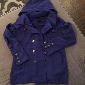 Hurley jacket with hood